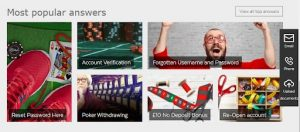 32Red Casino FAQ page