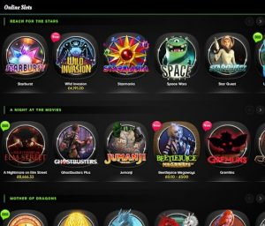 888 Slots Section