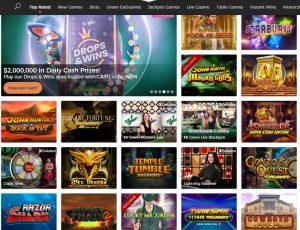 Mr Green Casino games lobby