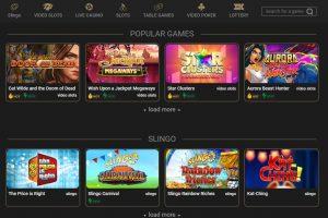 Casino Casino game lobby
