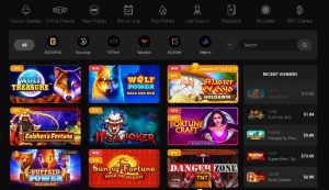 CasinoChan Casino Games Lobby